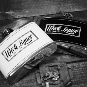 4oz Hip Flask by Wick Liquor